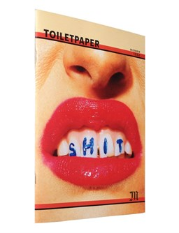 Toilet Paper Magazine.Toiletpaper Magazine 10 Collector S Edition Maurizio Cattelan And