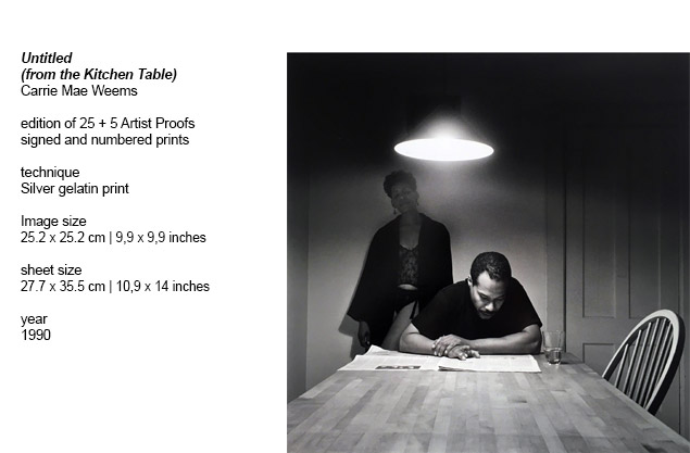 Kitchen Table Series Collector S Edition Carrie Mae Weems